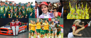 Aussie women in sport 2015